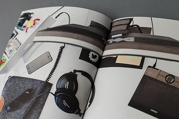 Fotodoppelseite aus dem Magazin Offscreen