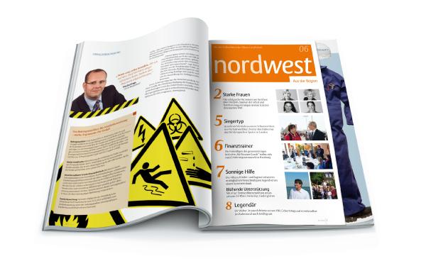 Allianz Vertriebsmagazin mit Regionalteil als Heft im Heft