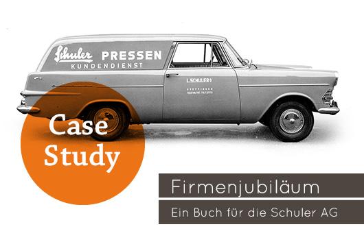 Unternehmensbuch Firmenjubiläum Schuler AG