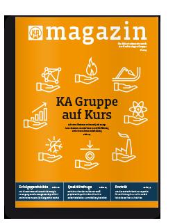 Mitarbeitermagazin Kraftanlagen Gruppe