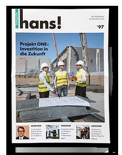 Mitarbeiterzeitschrift Hansgrohe