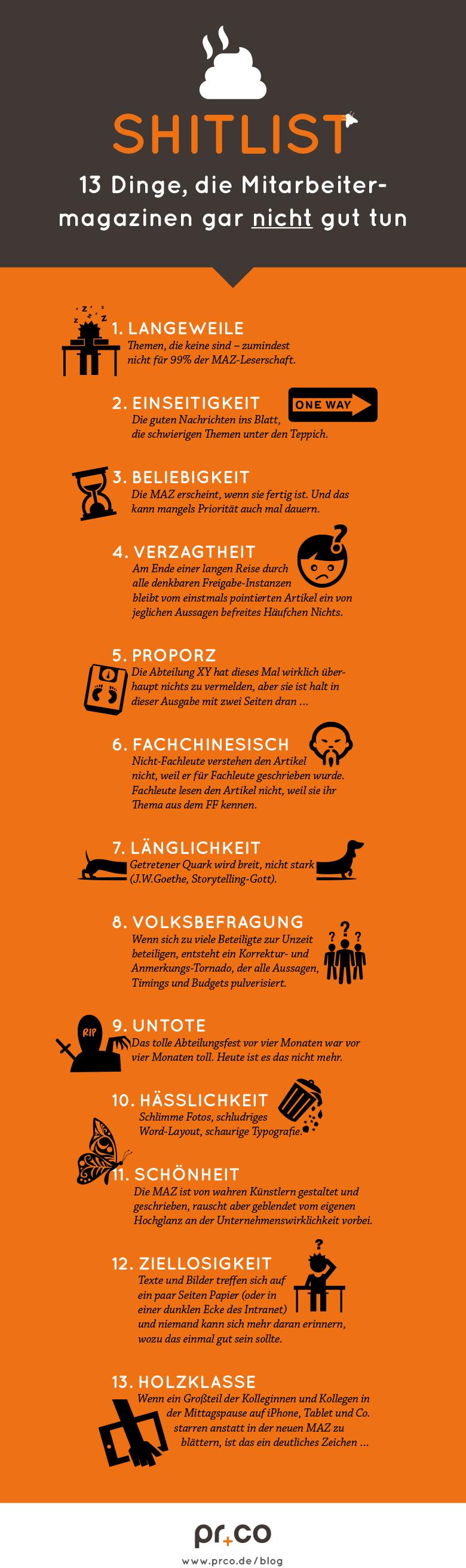 prco-mitarbeitermagazin-infografik-13-no-gos
