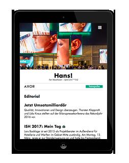 Onlinemagazin Hansgrohe