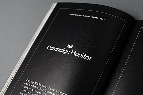 Sponsorenseite aus dem Magazin Offscreen