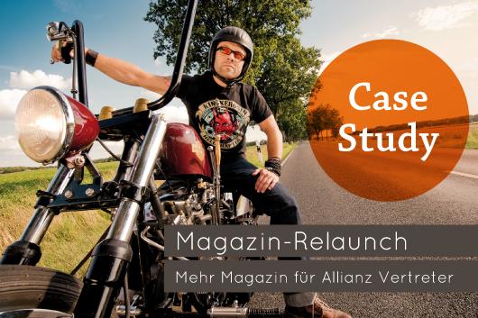 Case Study: Magazin Relaunch Mehr Magazin für ALLIANZ Vertreter