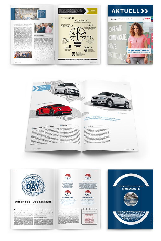 Magazin für Mitarbeiter von Bosch Automotive Steering