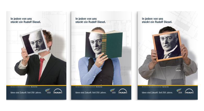 Interne Kommunikation - Jubiläumskommunikation für MAN Nutzfahrzeuge