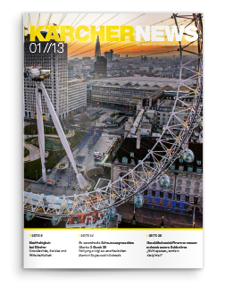 Mitarbeitermagazin Kärcher