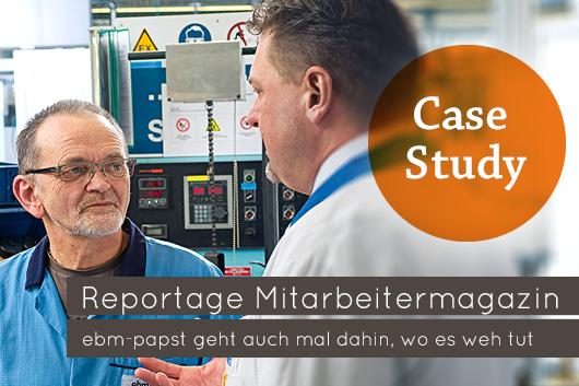 Case Study: Reportage Mitarbeitermagazin