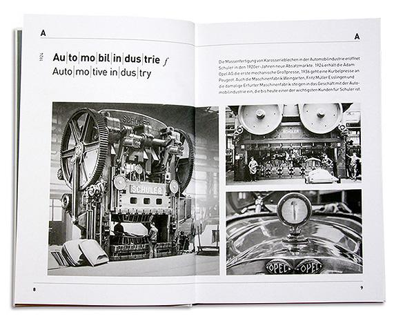 Schuler Firmenjubilaeum Buch Automobilindustrie
