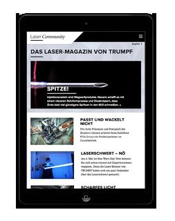 Onlinemagazin TRUMPF