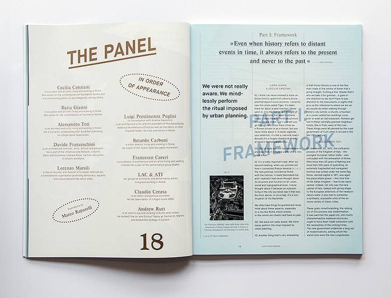 Magazin Flaneur: Menschen als Thema