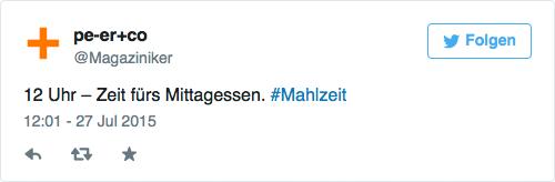 tweet-mahlzeit