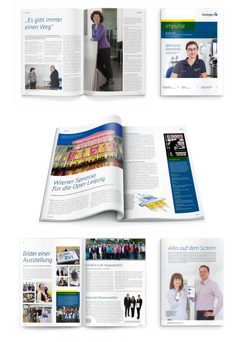 Unternehmensmagazin Ensinger impulse