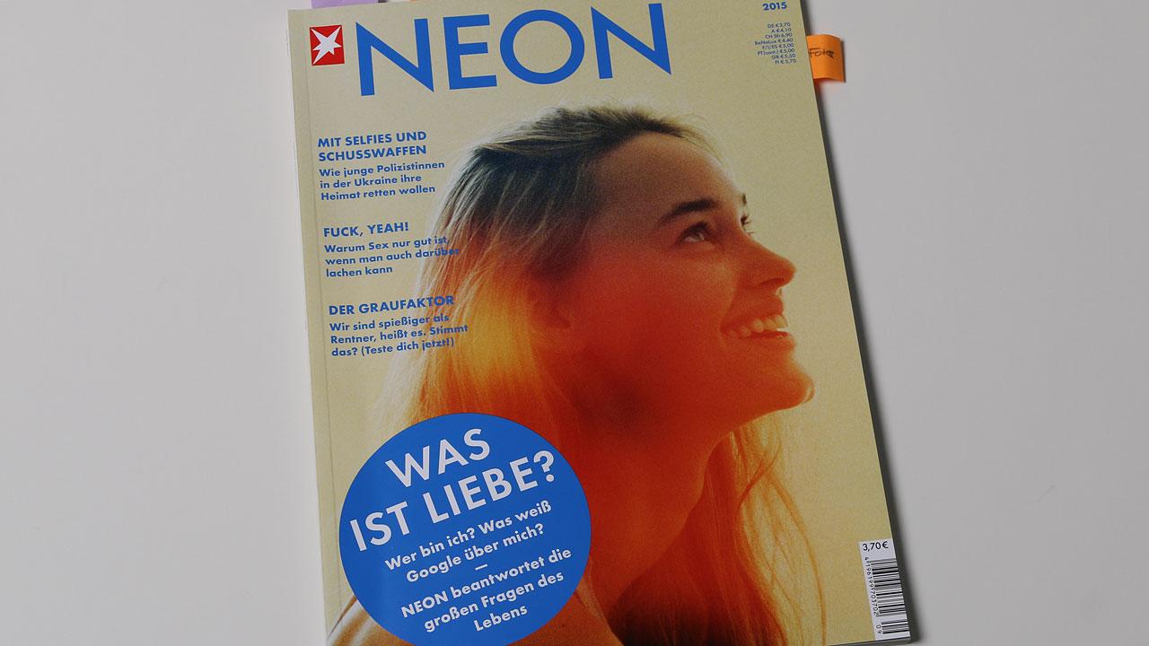 Neon, 09/2015, Titel