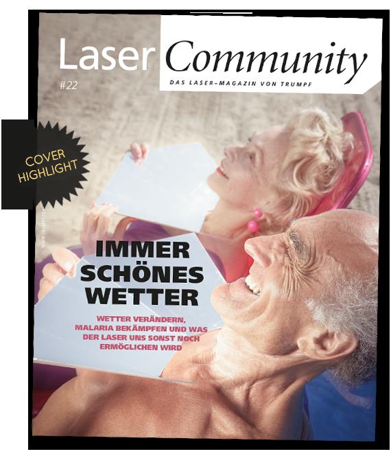 magazin cover highlight Trumpf Laser Community