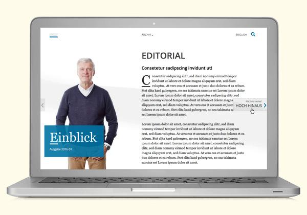 besser als ein Blätter-PDF: mag4web
