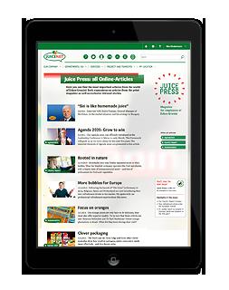 Onlinemagazin Eckes-Granini