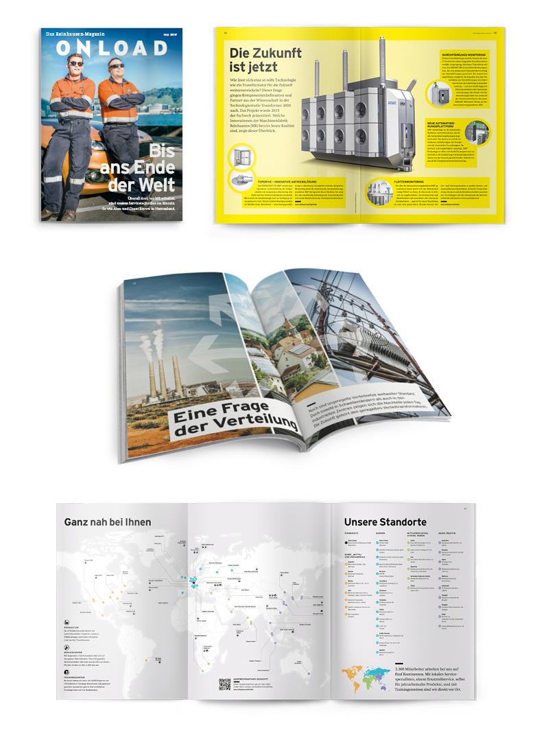 Reinhausen Kundenmagazin Onload