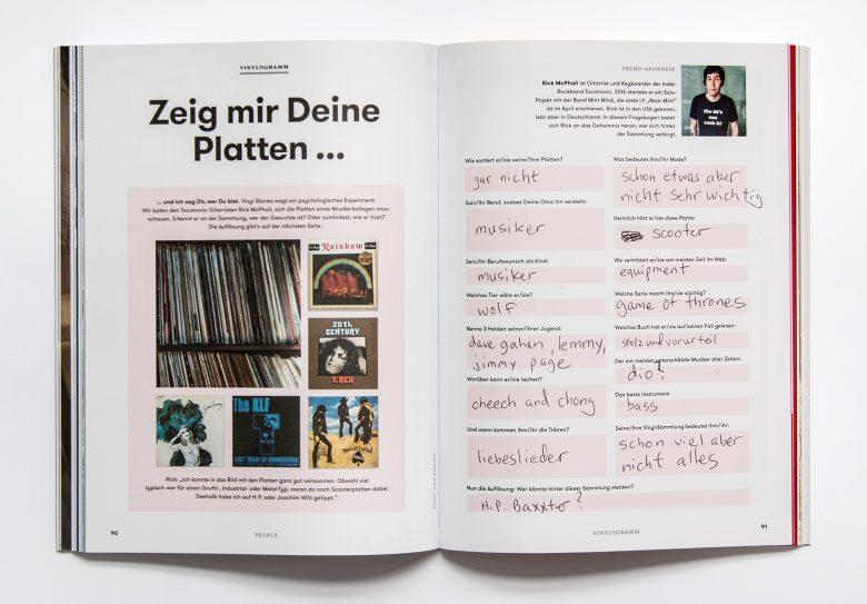 Innenseite Vinyl Stories