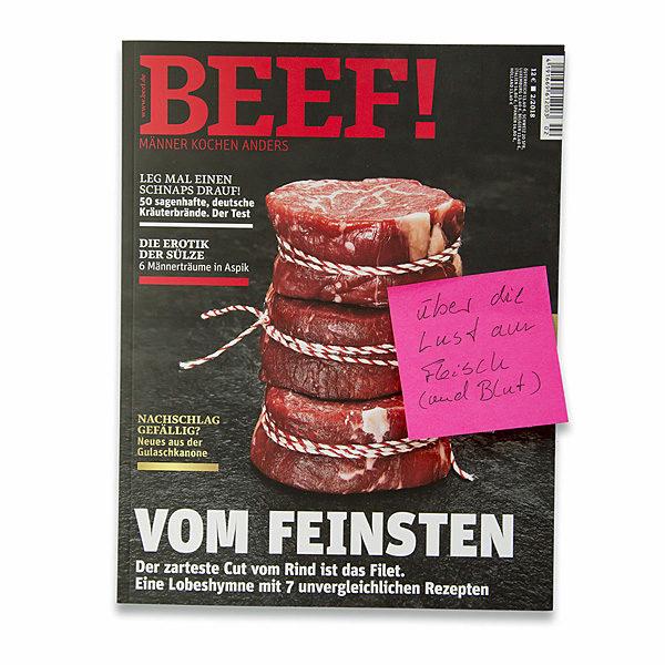 BEEF: über die Lust am Fleisch (und Blut)