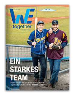 Mitarbeitermagazin WALTER EWAG
