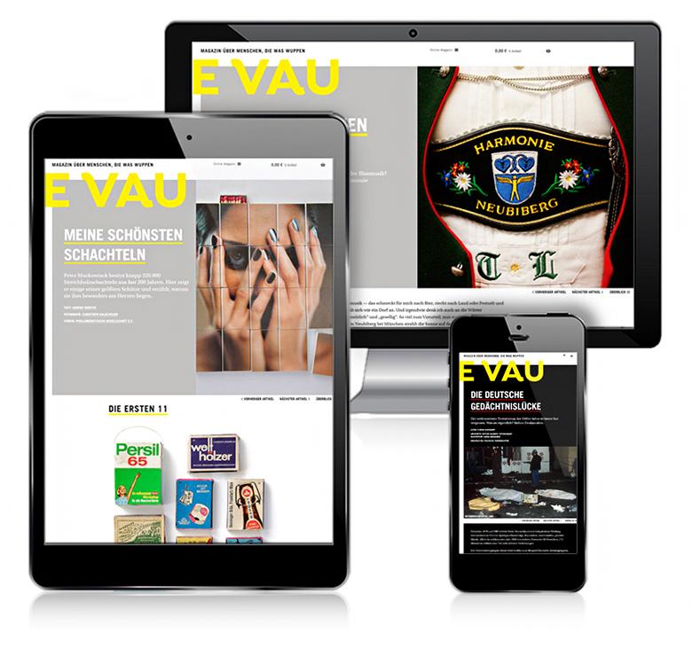 Das Online-Magazin EVAU