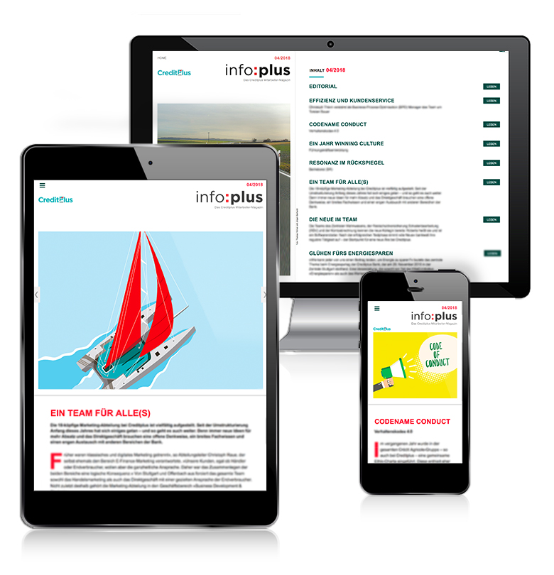 Online-Magazin von Creditplus