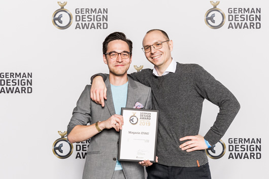 German Design Award für EVAU!